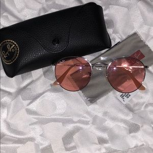 3f372ca50949e Women s Pink Ray Ban Sunglasses on Poshmark